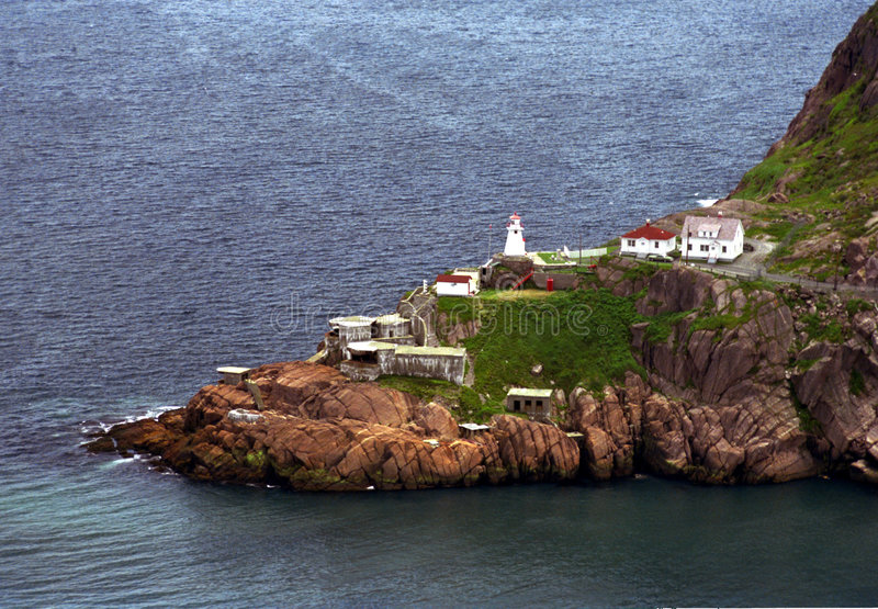 Fort Amherst Newfoundland royalty-vrije stock foto's