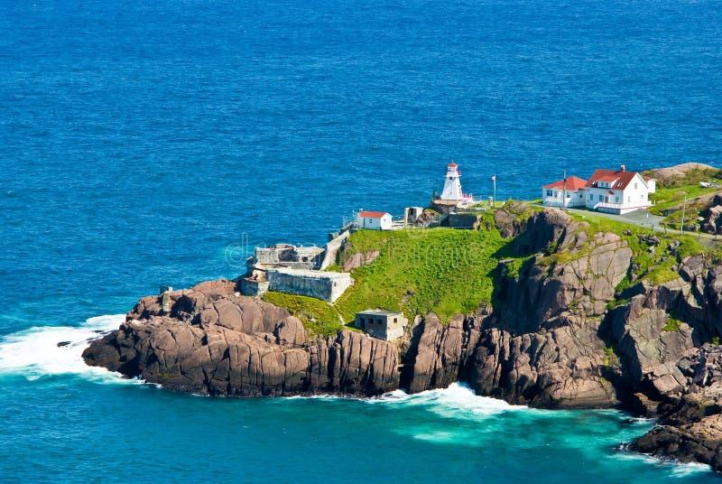 Fort Amherst, St-Johns, Newfoundland stock image