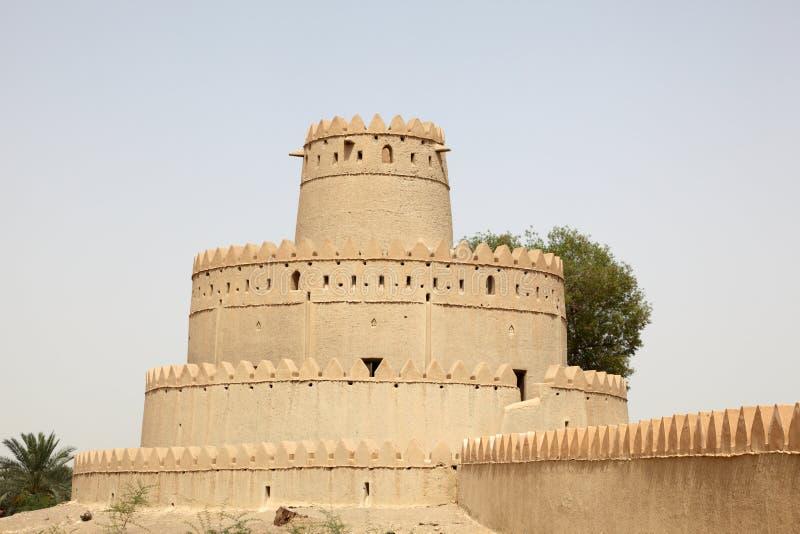 Fort antique d'Al Ain, Abu Dhabi photos libres de droits