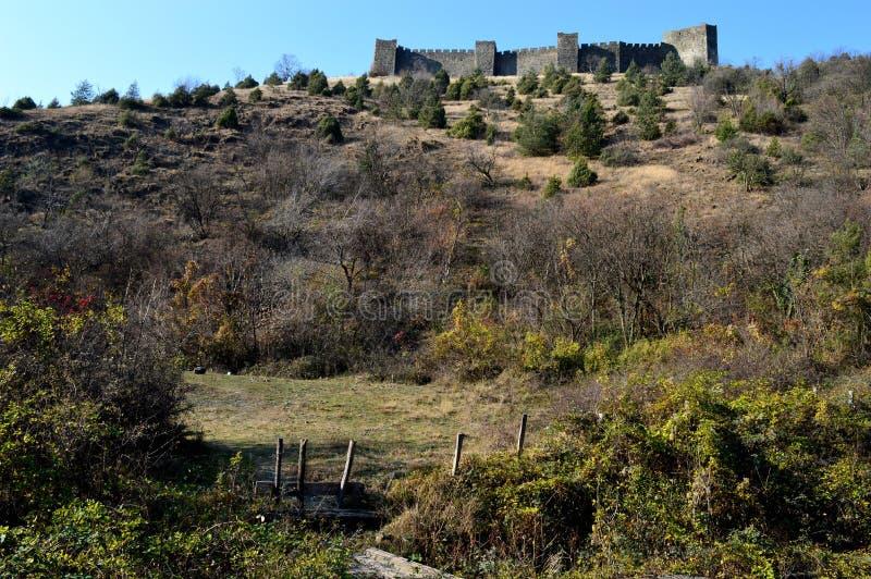Fort auf dem Hügel stockbilder