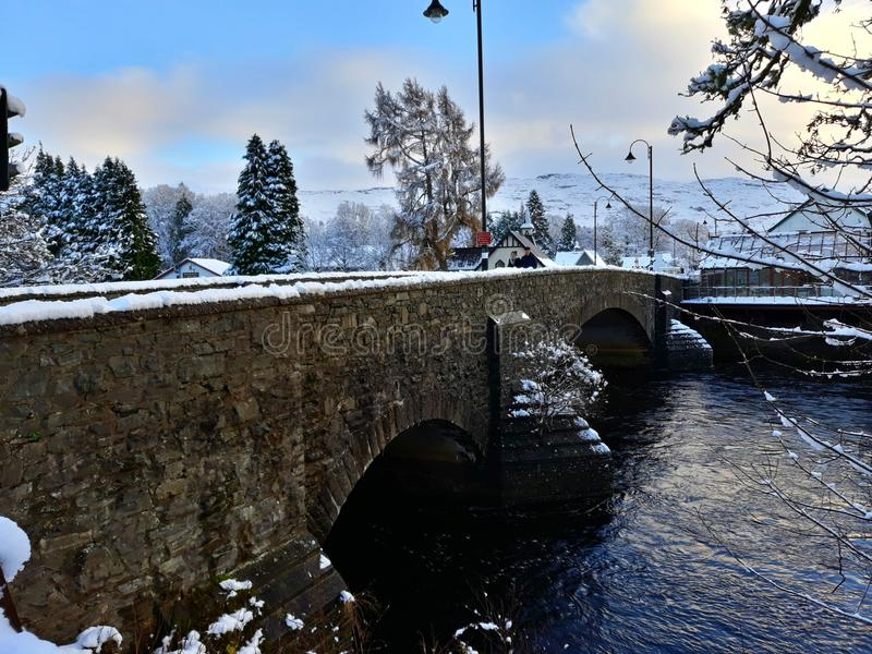 Fort Augustus Scotland stock foto's
