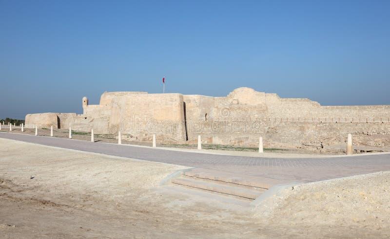 Fort av Bahrain i Manama, Mellanösten royaltyfri foto