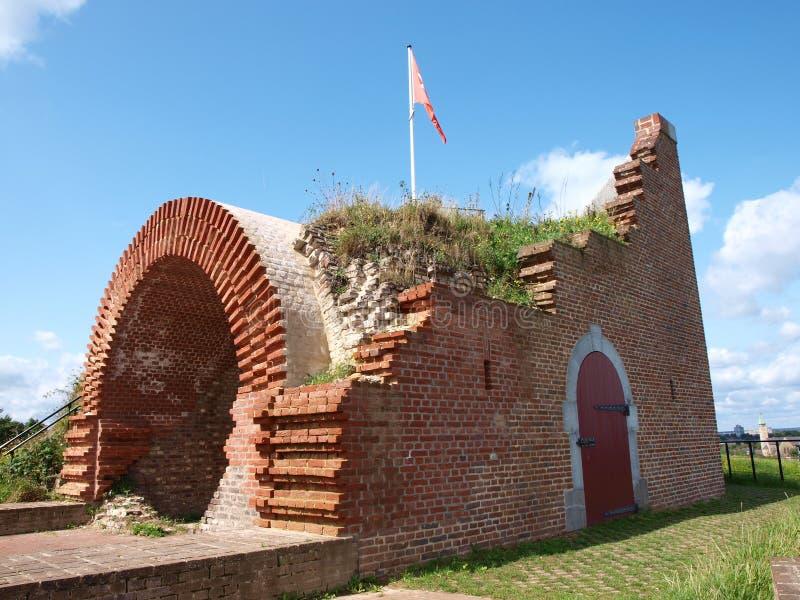 Fort av St Peter, Maastricht, Nederländerna arkivbild