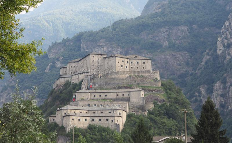 Fort in Bard royalty-vrije stock afbeeldingen