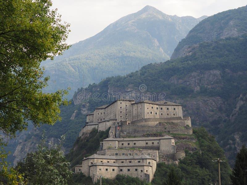 Fort in Bard royalty-vrije stock foto's