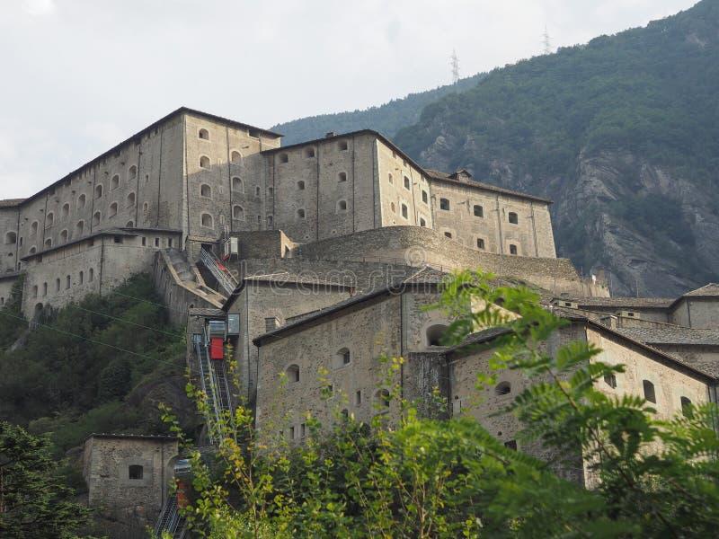 Fort in Bard royalty-vrije stock fotografie