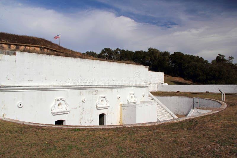 Fort Barrancas zdjęcie stock