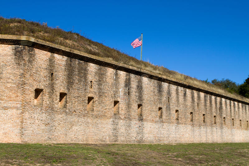 Fort Barrancas Pensacola royalty-vrije stock fotografie