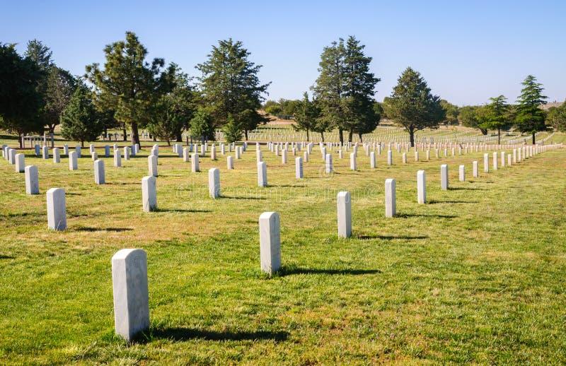 Fort Bayard National Cemetery stockbild