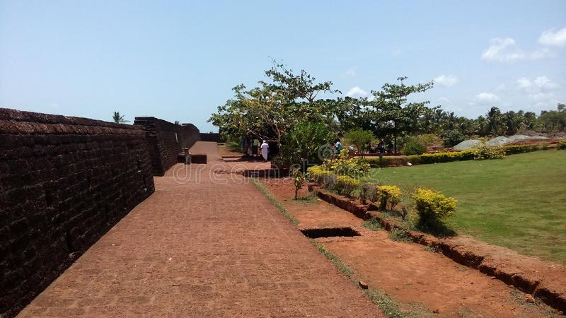 fort bekal fotografia stock