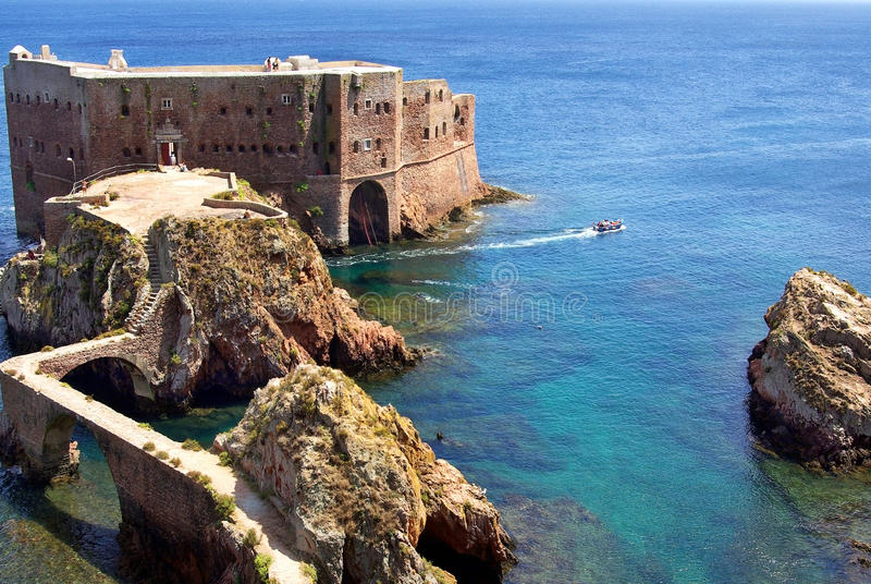 Fort in Berlenga island.