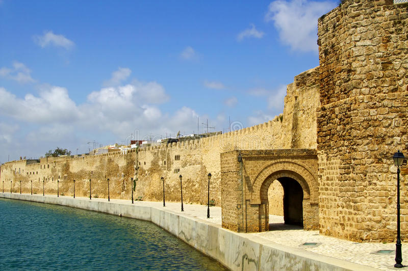 Fort Bizerte, Tunezja obraz stock