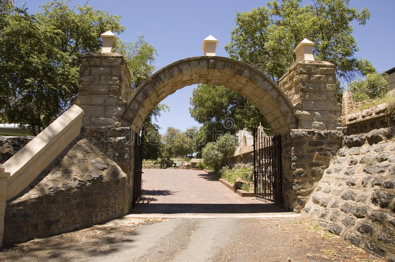 Fort Bloemfontein stock foto