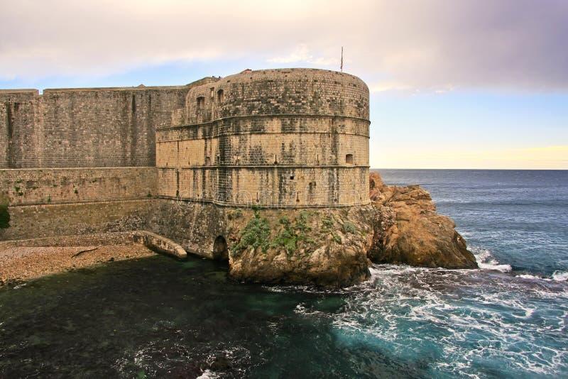 Fort Bokar, Dubrovnik. Fort Bokar, Old town of Dubrovnik, Croatia stock images