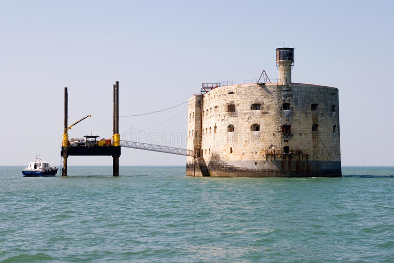 Fort Boyard stockfotografie