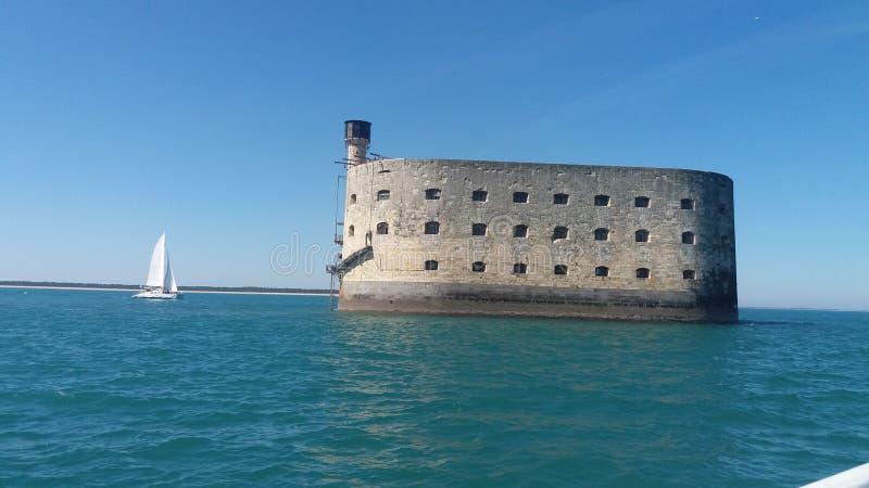 Fort Boyard zdjęcie stock