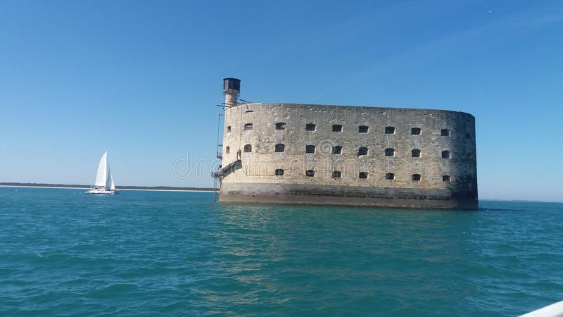 Fort Boyard стоковое фото
