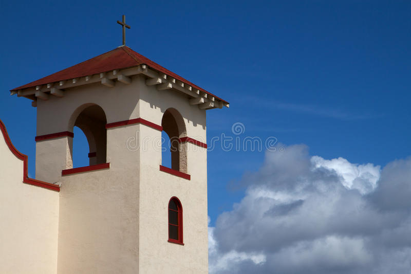 Fort Bragg Mission Church royalty free stock image