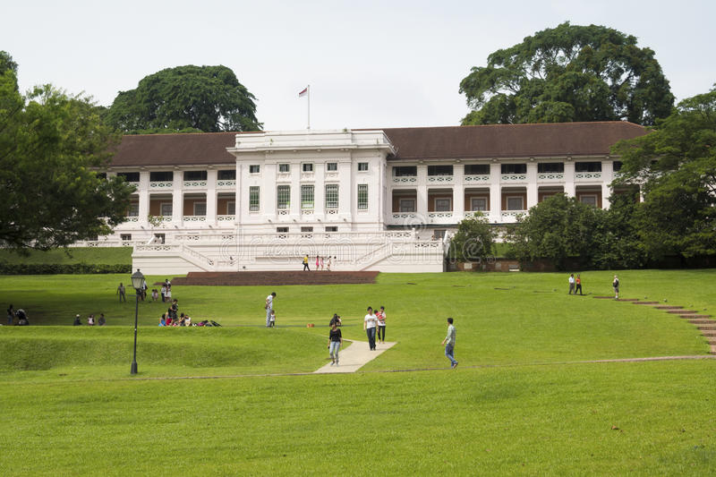 Fort Canning Park royalty free stock image