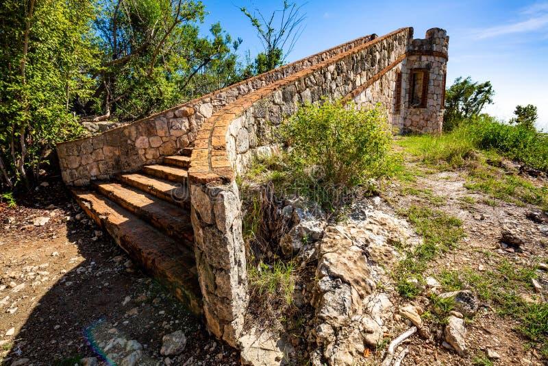 Fort Capron w Guanica Puerto Rico scenicznym przyciąganiu obraz royalty free