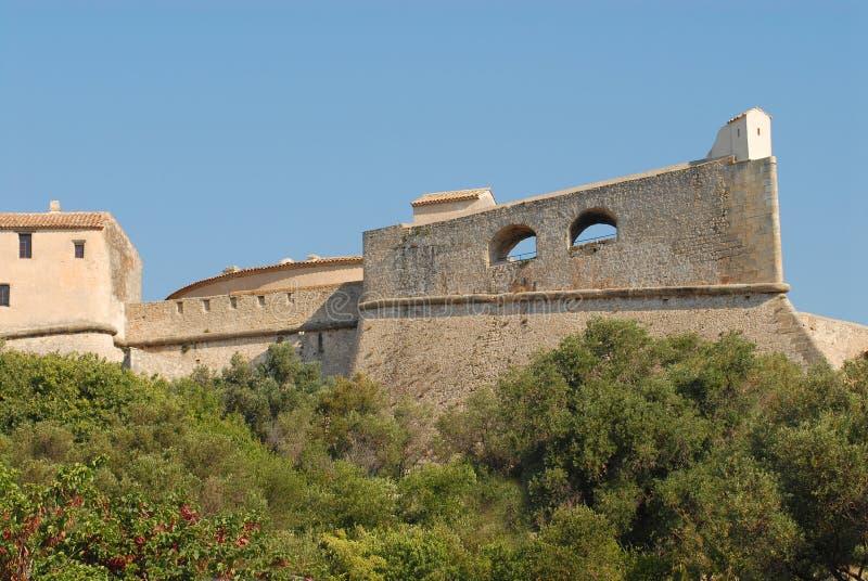 Fort Carre de la France Antibes photo stock