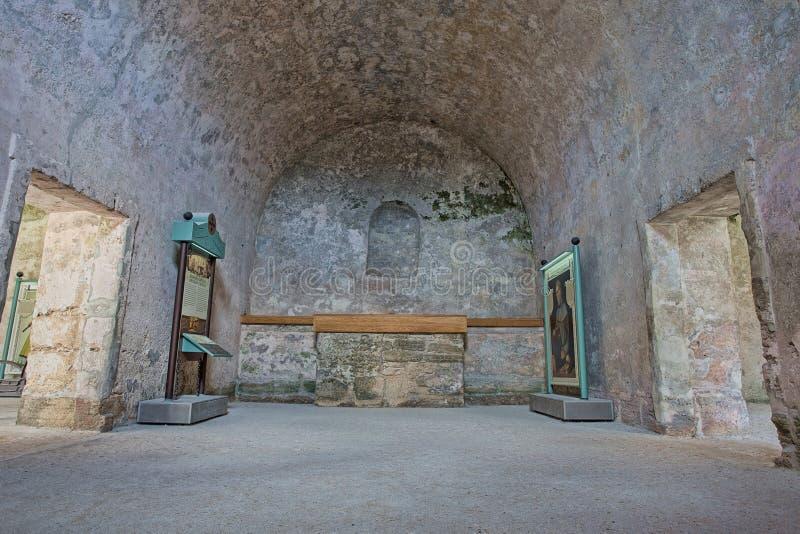 Fort Castillo, St Augustine, Florida arkivfoton