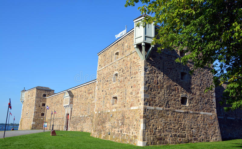 Fort Chambly arkivfoton