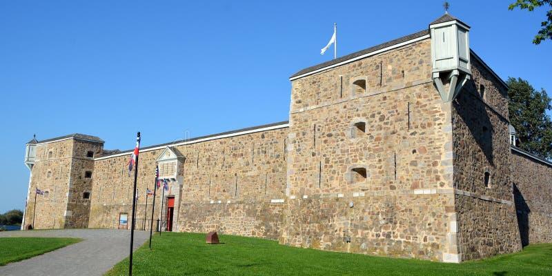Fort Chambly royaltyfri fotografi
