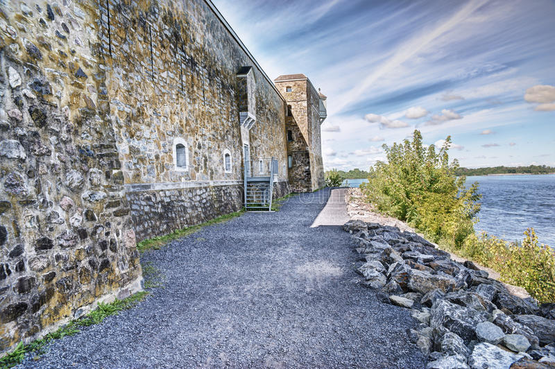 Fort Chambly stock photo