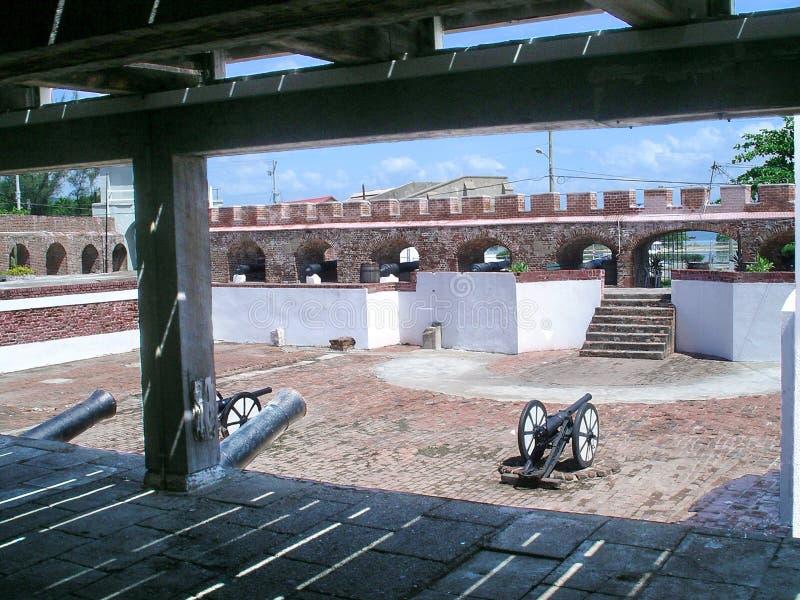 Fort Charles royalty-vrije stock foto's