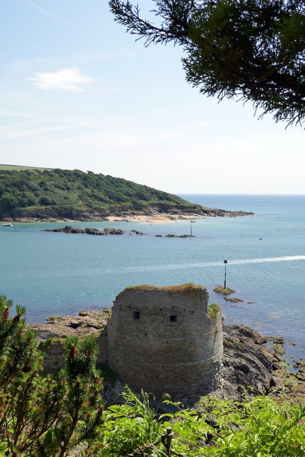 Fort Charles, Salcombe, Devon, royalty-vrije stock foto's