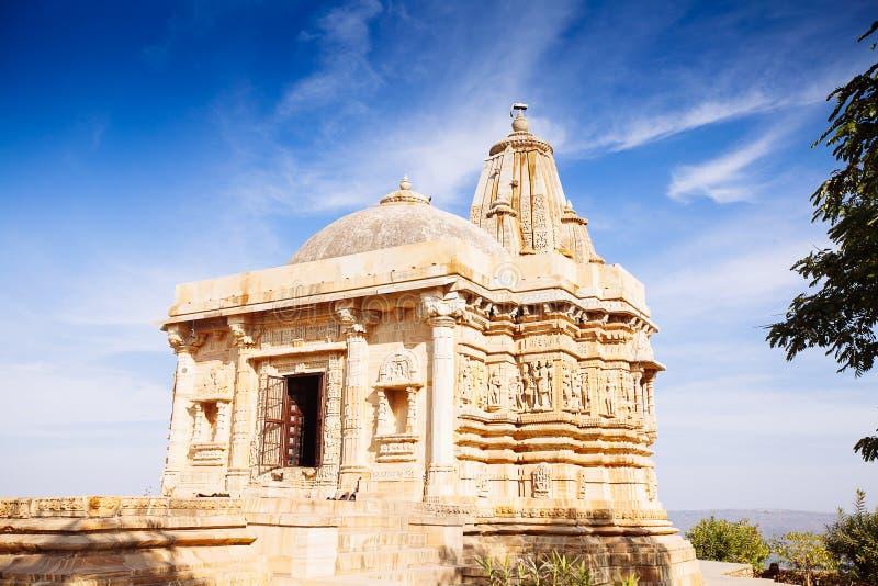 Fort Chittorgarh in India Rajasthan Kirti Stambha royalty-vrije stock afbeeldingen