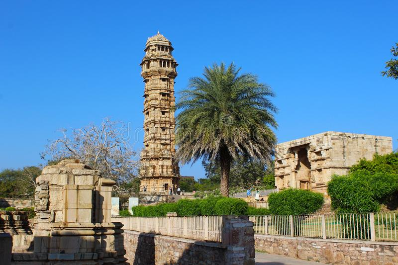 Fort Chittourgarh rajasthan India stock photography
