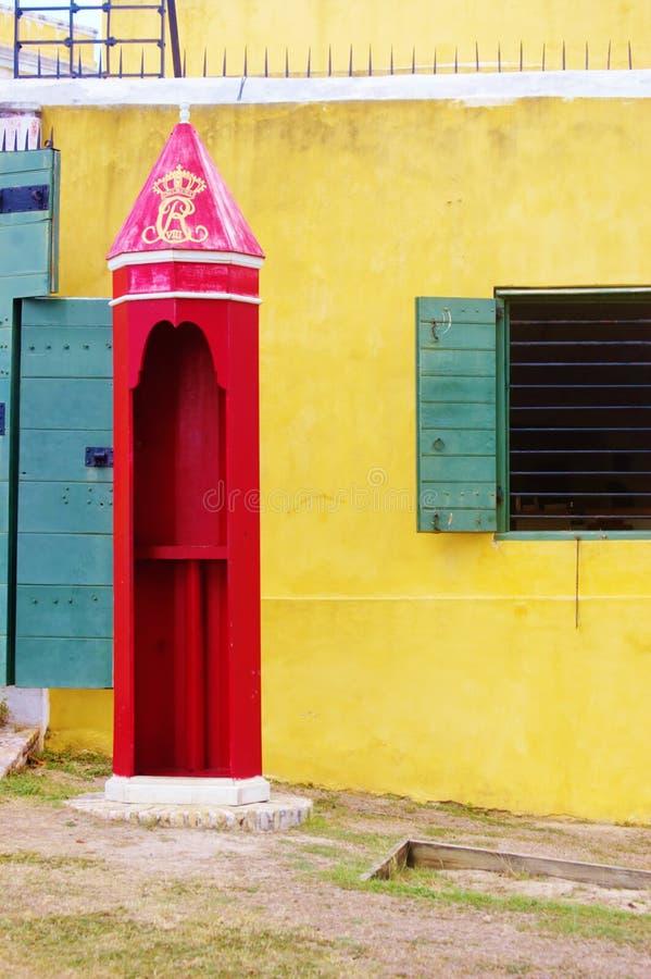 Free Fort Christiansted St Croix Usvi Sentry Box Royal Symbol Royalty Free Stock Photo - 55955885