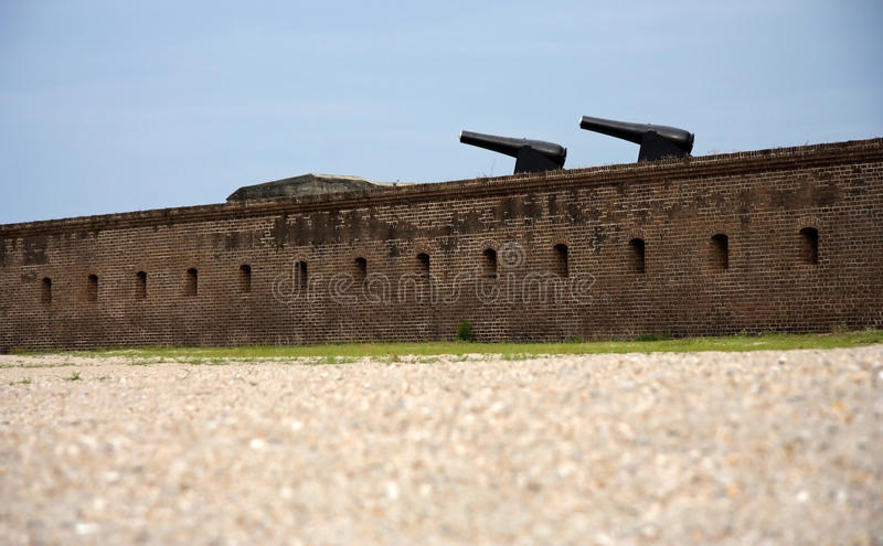 Fort Clinch stock images