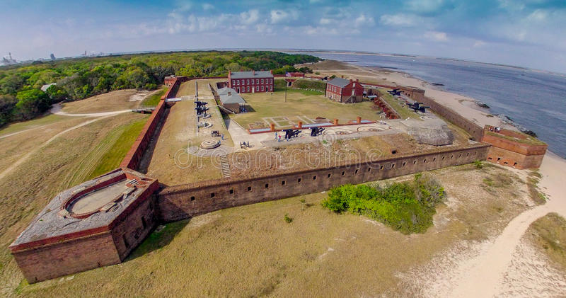 Fort Clinch royalty free stock photos