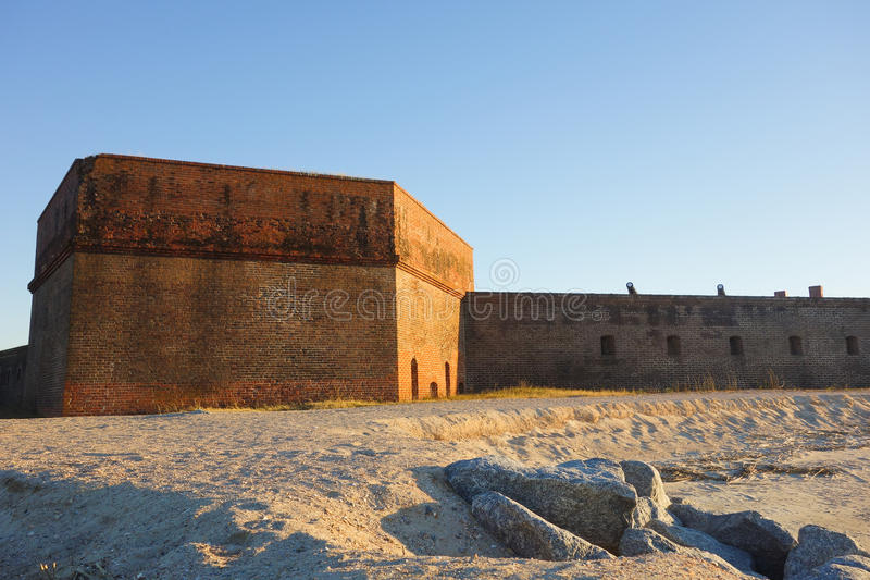 Fort Clinch, Florida royalty free stock photo