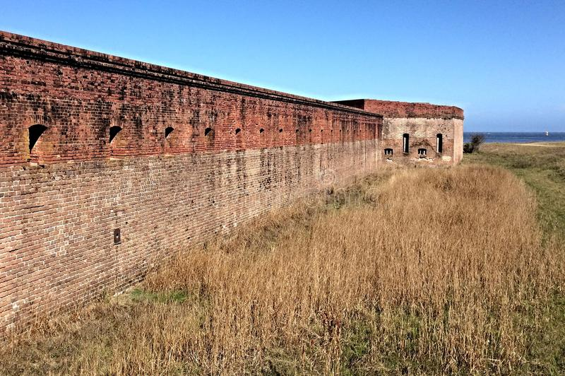 Fort Clinch royalty free stock images