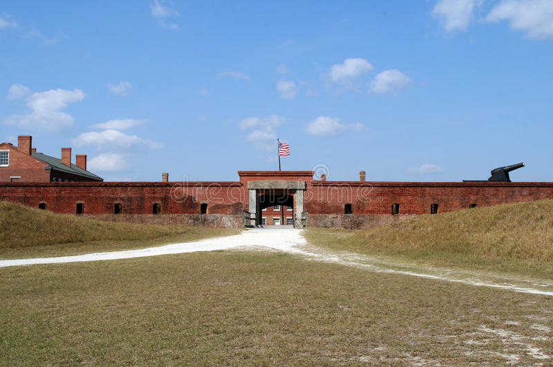 Fort Clinch State Park royalty free stock image