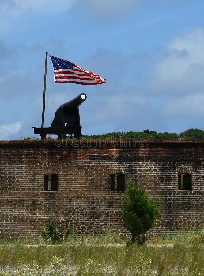 Fort Clinch State Park stock image