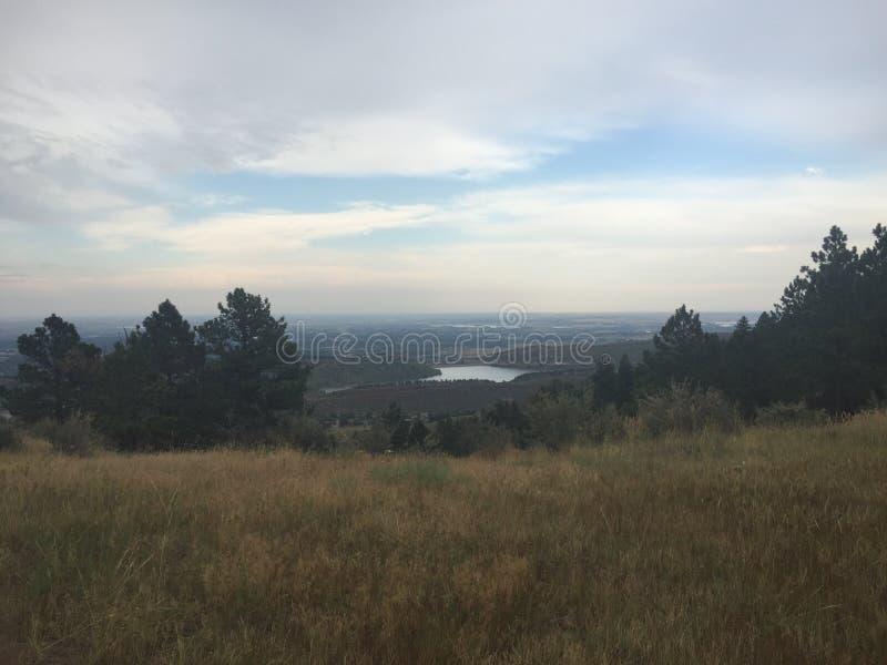 Fort Collins Co die Vorberge lizenzfreie stockfotografie