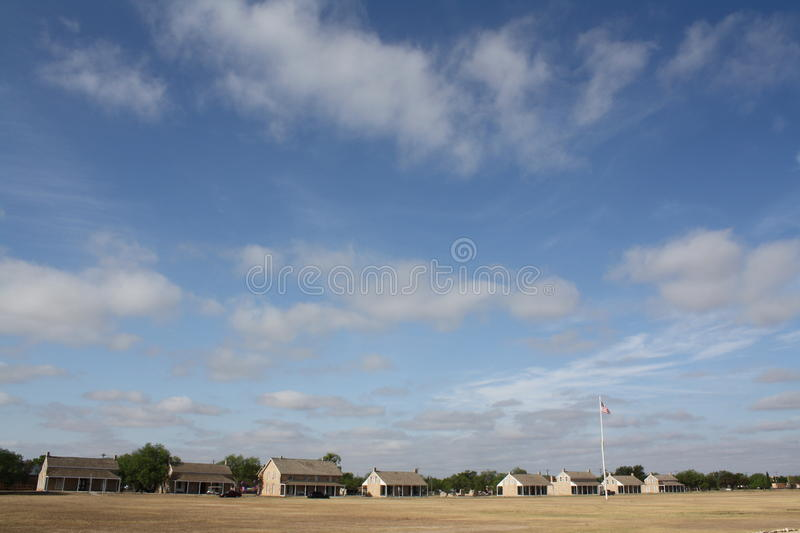 Download Fort Concho stock image. Image of scenic, military, west - 21718243