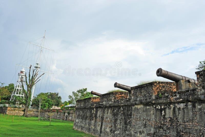 Fort Cornwallis stock fotografie