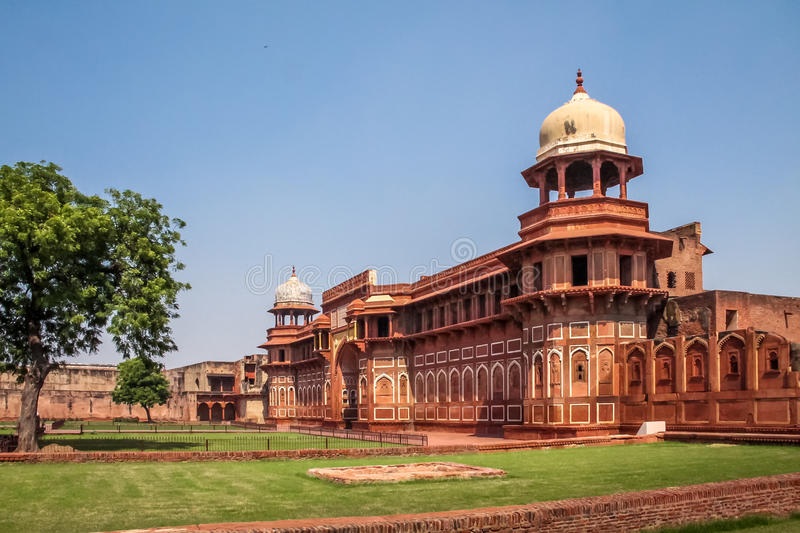 Fort d'Âgrâ - Âgrâ, Inde photos stock