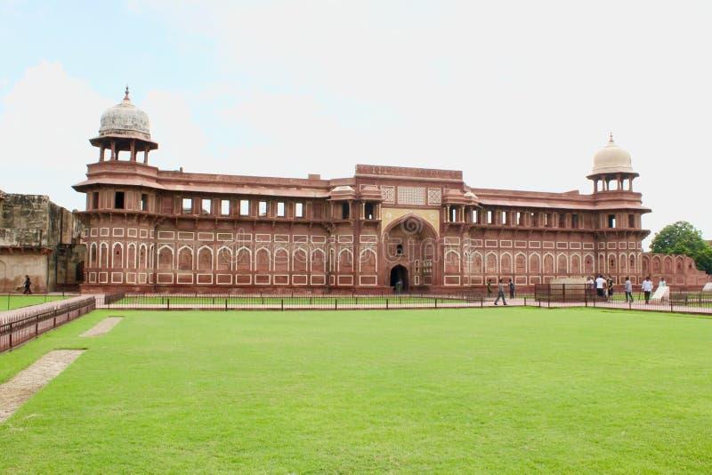 Fort d'Âgrâ - palais de Jehangirs image stock