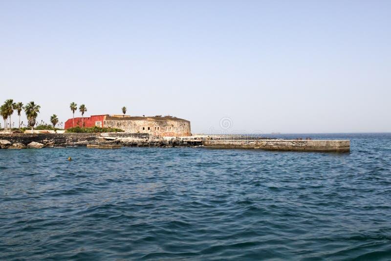 Fort d'île de Goree, Sénégal photographie stock libre de droits