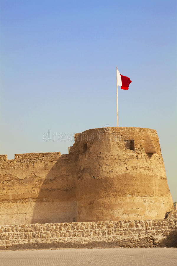 Fort d'Arad, Manama, Bahrain image libre de droits