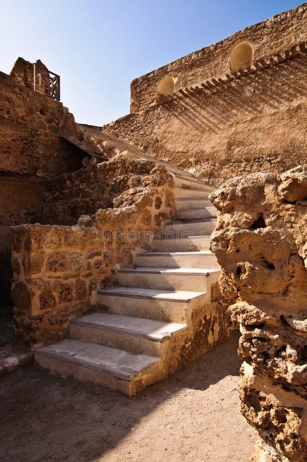 Fort d'Arad/Qal'at Arad photo stock