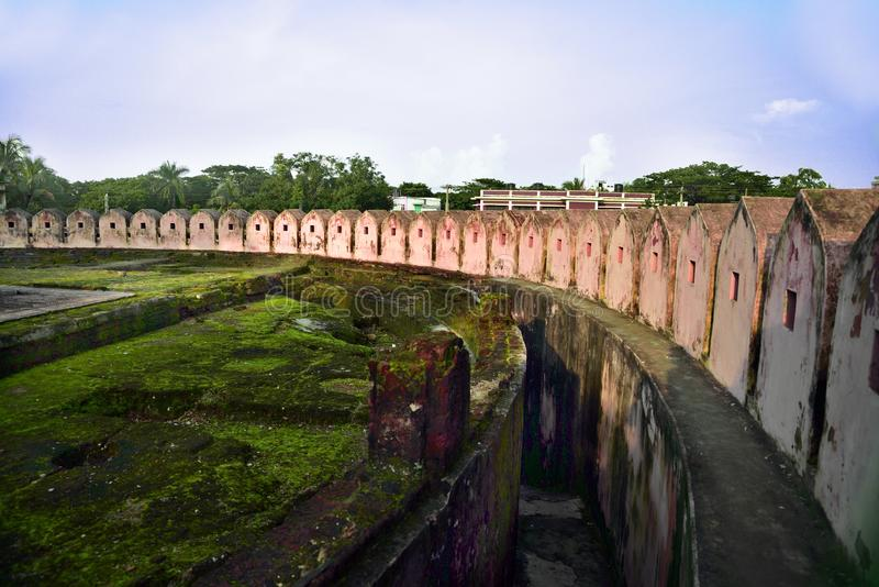Fort d'Idrakpur, Munshiganj, Bangladesh photo libre de droits