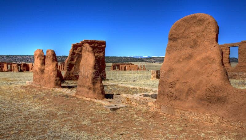 Fort dans les ruines photo libre de droits